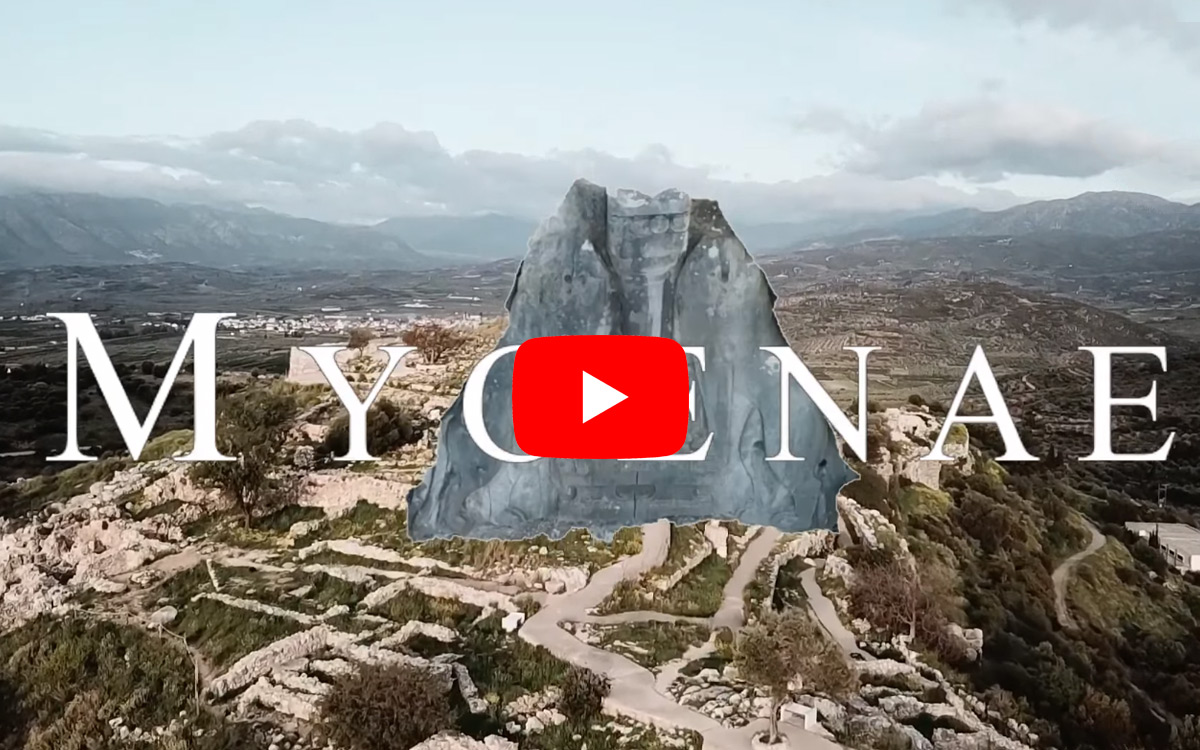 Drone Video Captures The Glory Of Mycenae, The Enigmatic Stronghold Of The Bronze Age 'Greeks'